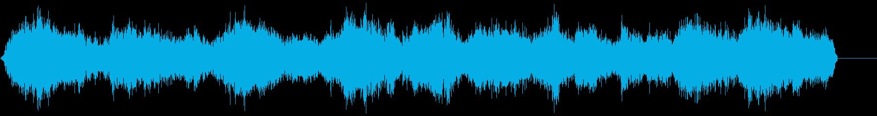 ゾンビ(グループ)うめき声1の再生済みの波形