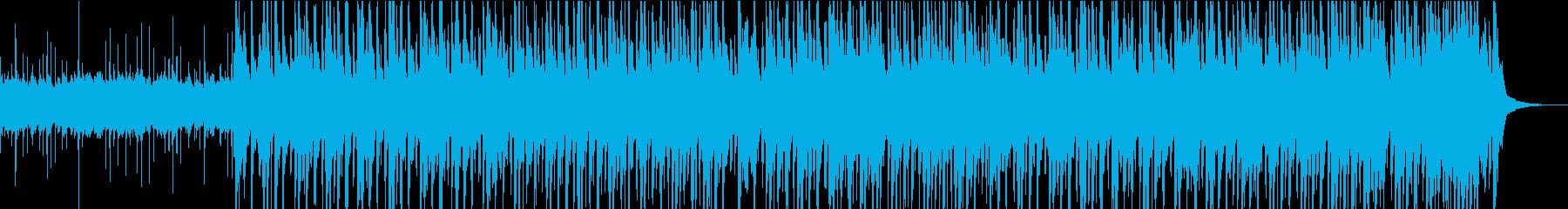 ポジティブな子供たちのミニディスコ音楽をの再生済みの波形