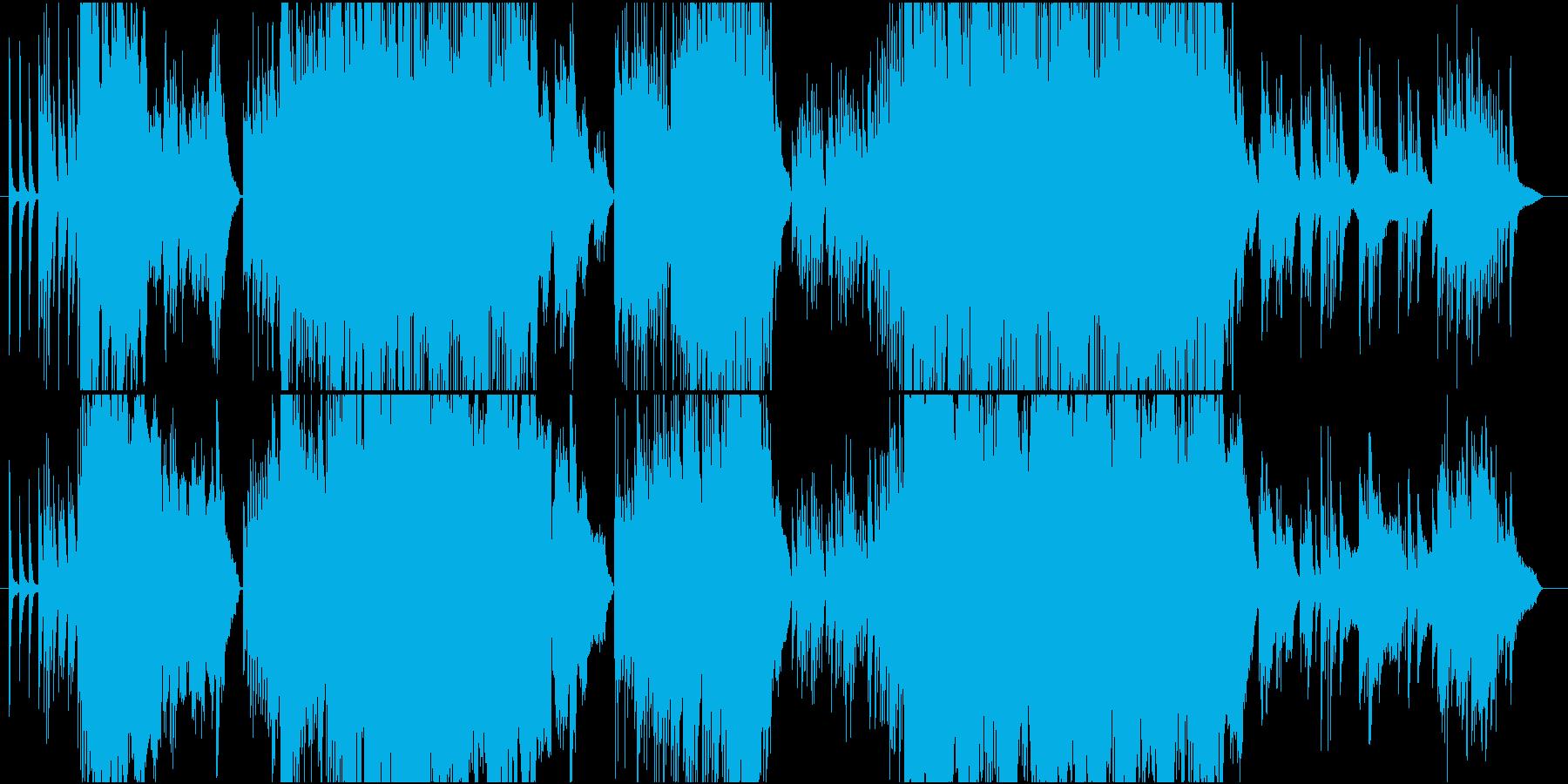 和を感じさせるピアノ中心のインスト曲の再生済みの波形