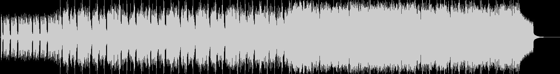 ピンクパンサーのようなミステリアスな曲の未再生の波形