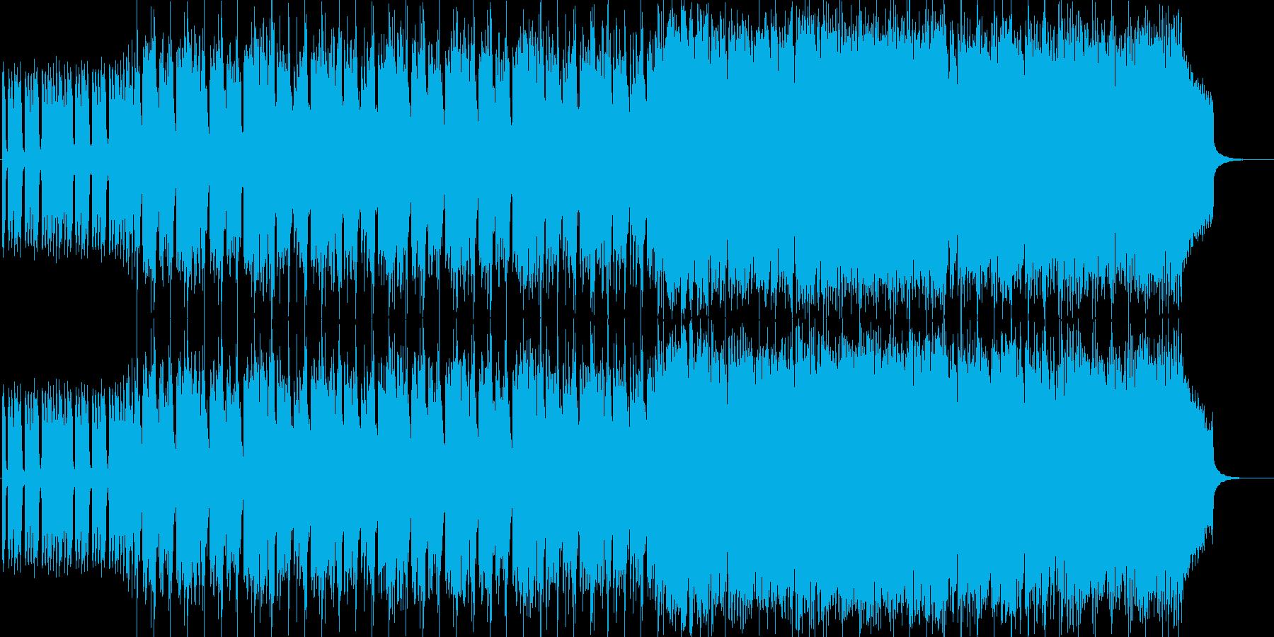 ピンクパンサーのようなミステリアスな曲の再生済みの波形