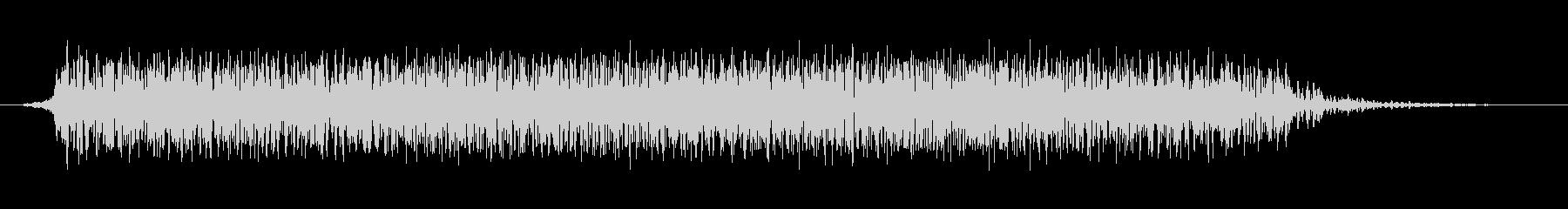 モンスター 悲鳴 52の未再生の波形