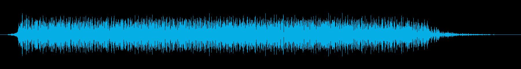 モンスター 悲鳴 52の再生済みの波形