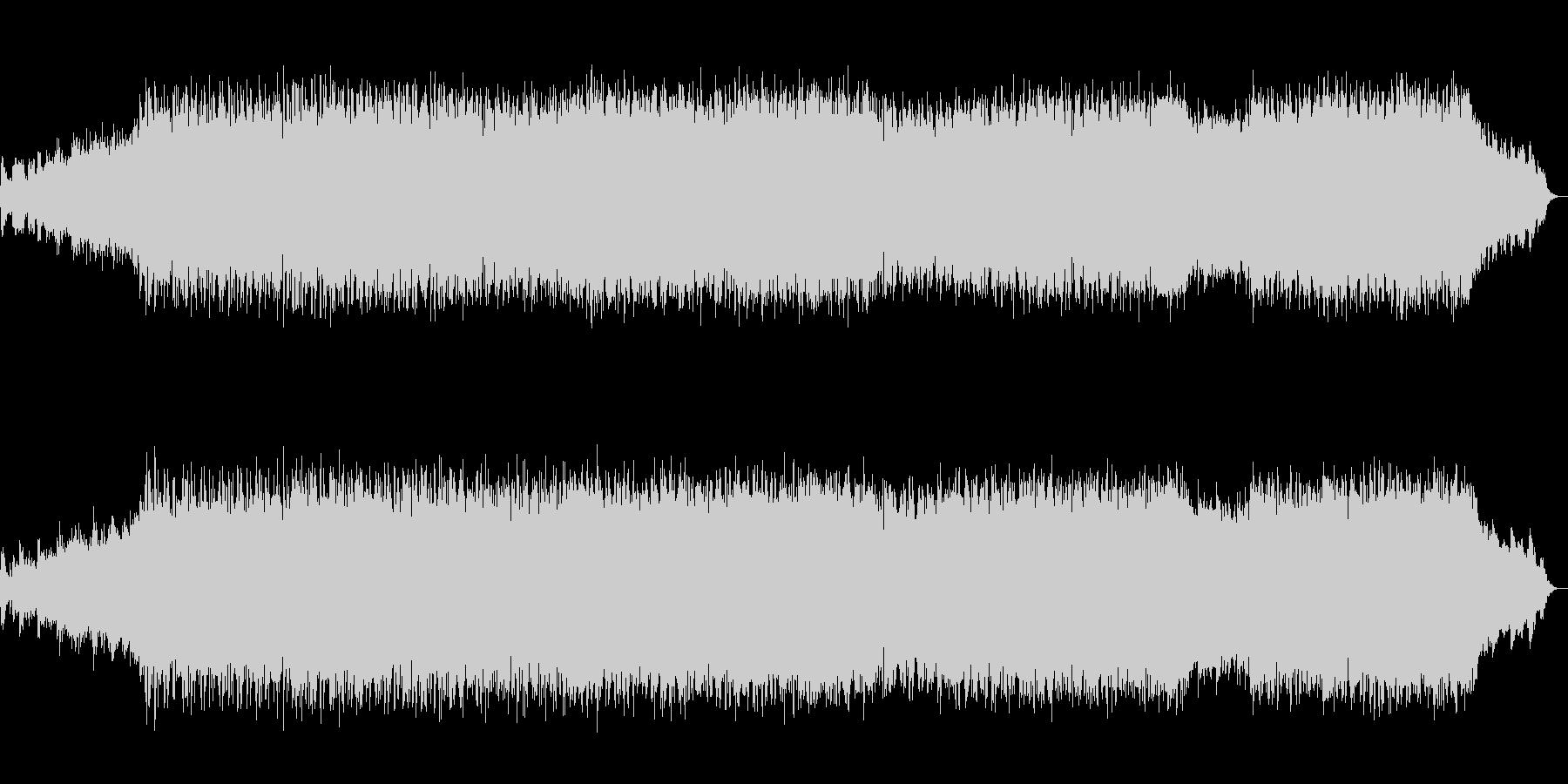 生演奏バイオリンの近未来的ドラムンベースの未再生の波形