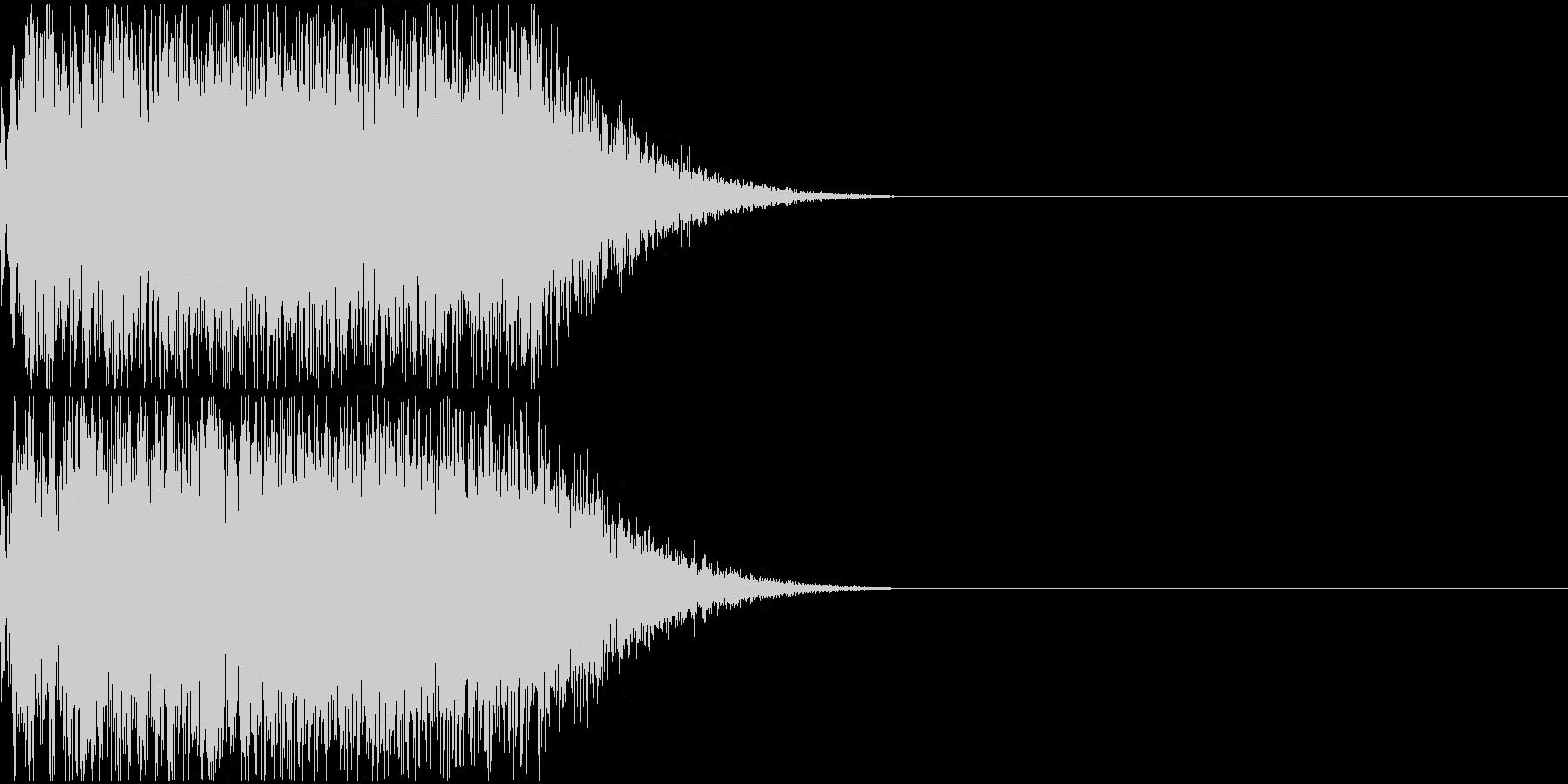 FX・SE/シンプルなドラの音の未再生の波形