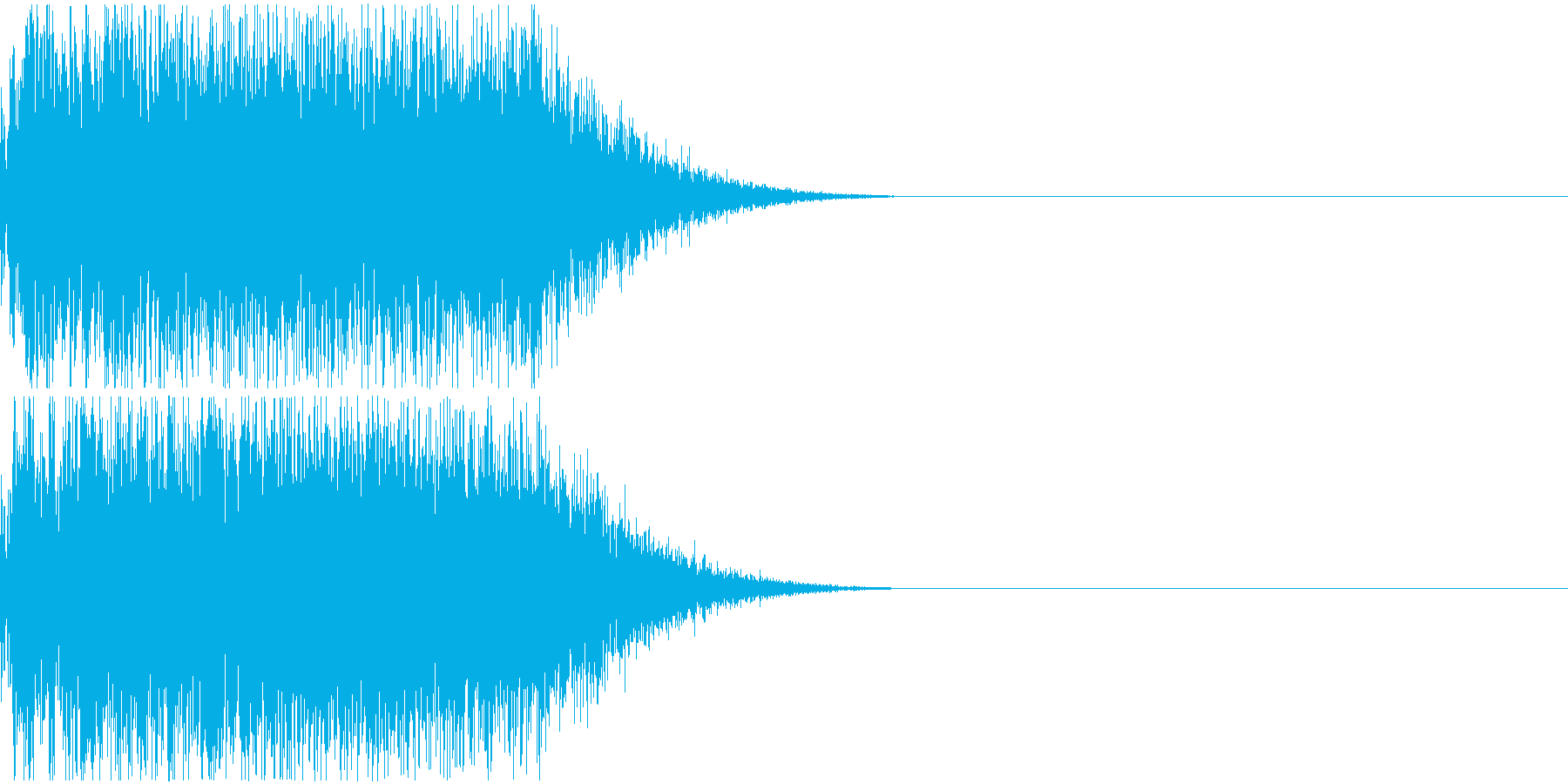 FX・SE/シンプルなドラの音の再生済みの波形