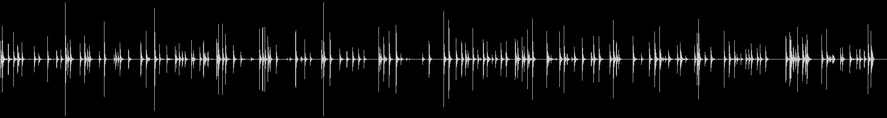 軽金属カウベル:ランダムラトル、ラ...の未再生の波形