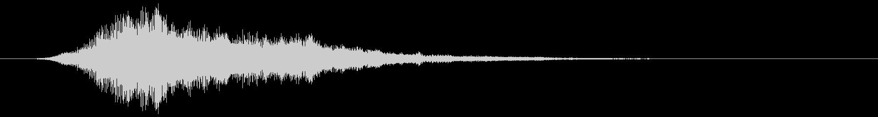 フワンフワン…(トピック・アイキャッチ)の未再生の波形
