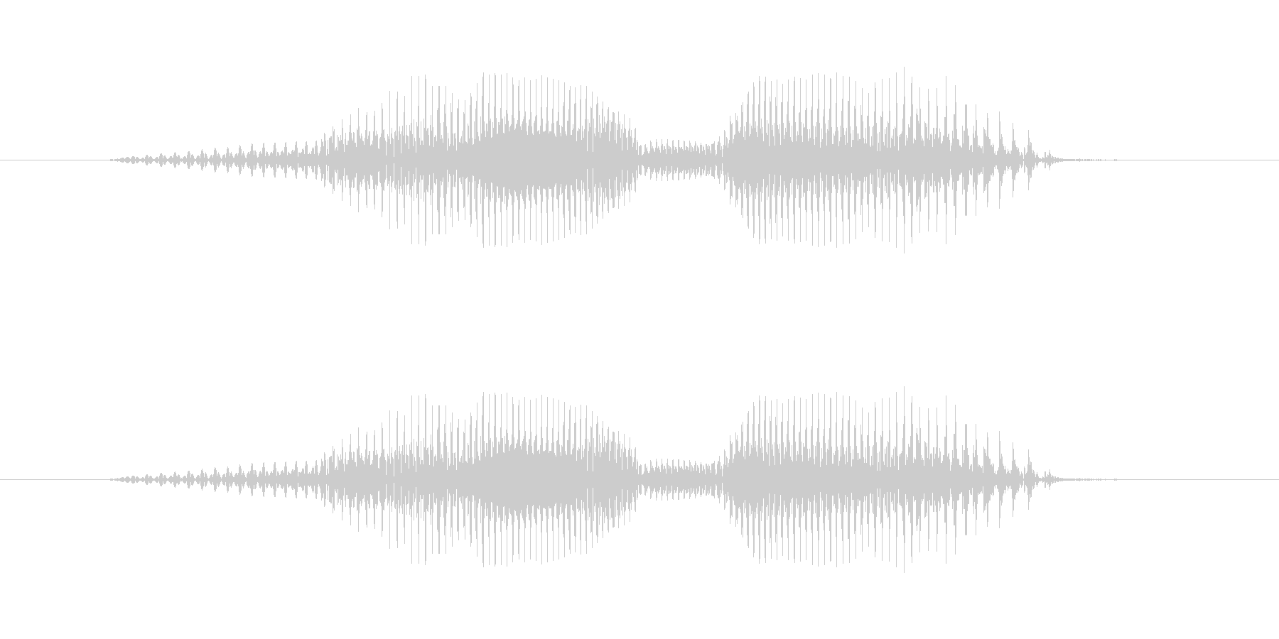 7(なな)-明るいトーンお兄さん風の未再生の波形