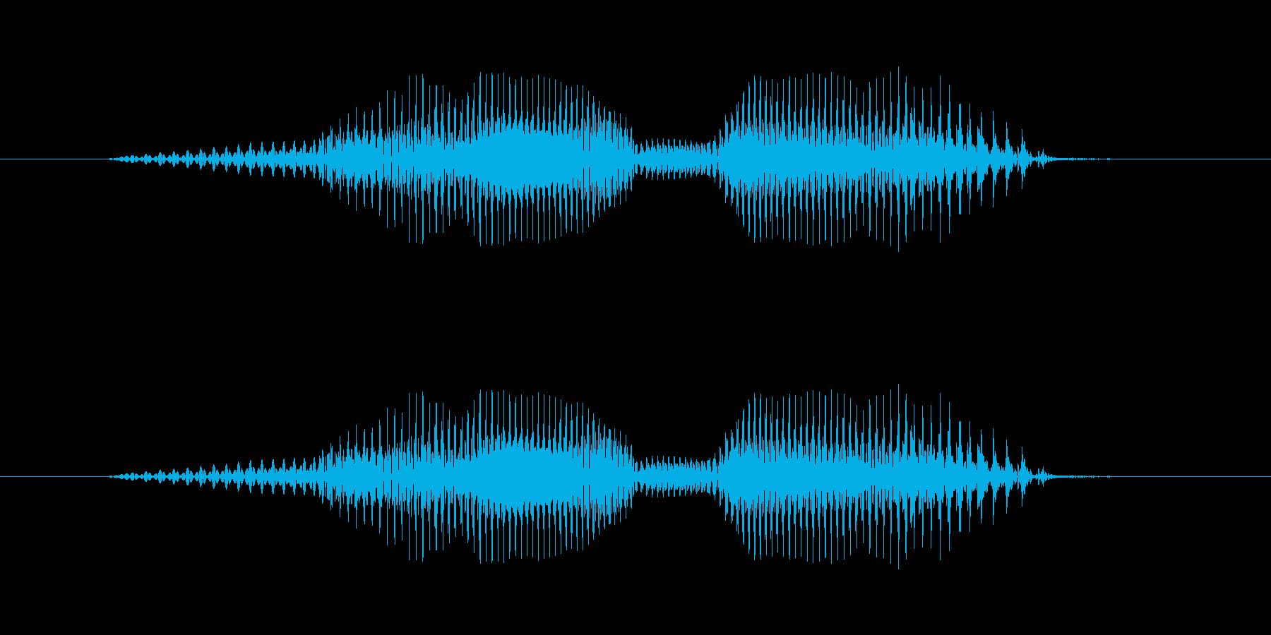 7(なな)-明るいトーンお兄さん風の再生済みの波形