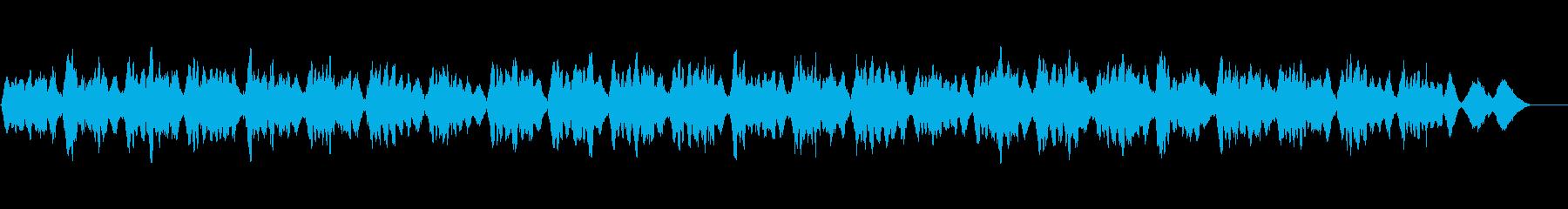 弦楽四重奏の生演奏による讃美歌001の再生済みの波形