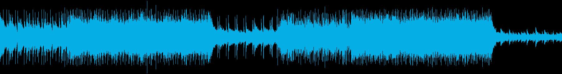 VP系27E、スポーツ系、爽やかロックの再生済みの波形