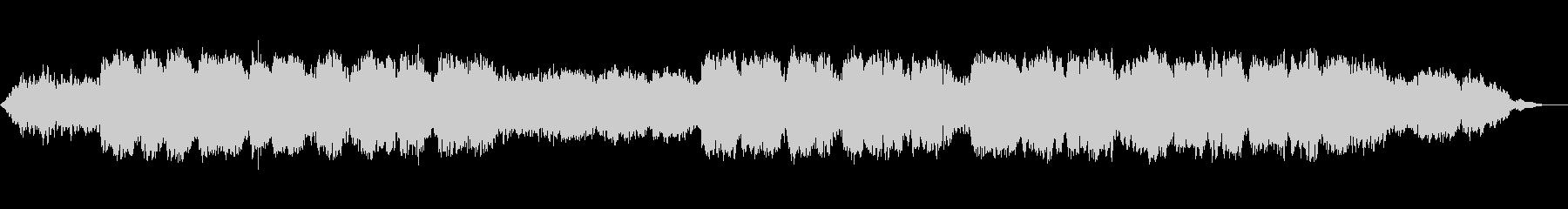 生演奏のケーナの穏やかなヒーリング音楽の未再生の波形