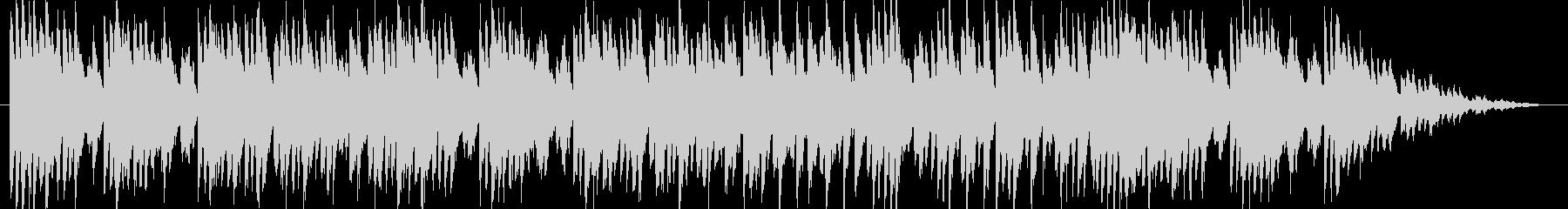 かわいいコミカルなオーケストラジングルの未再生の波形