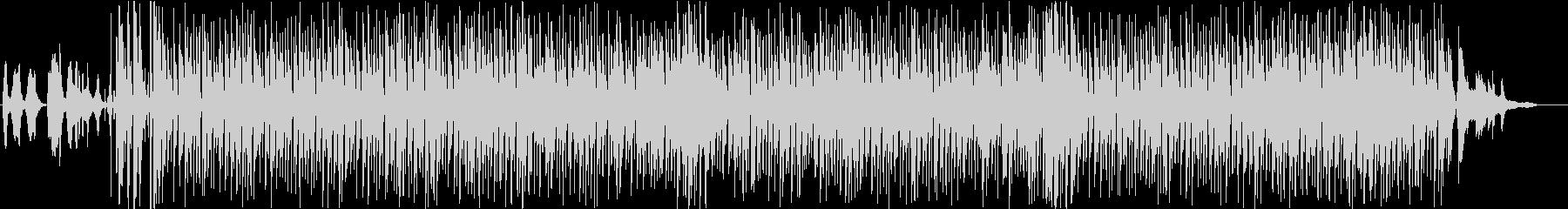 フランスのスウィング・ジャズ(伴奏版)の未再生の波形
