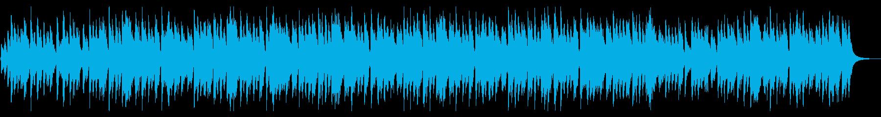 陽気で楽しいウクレレ/カントリー風の再生済みの波形