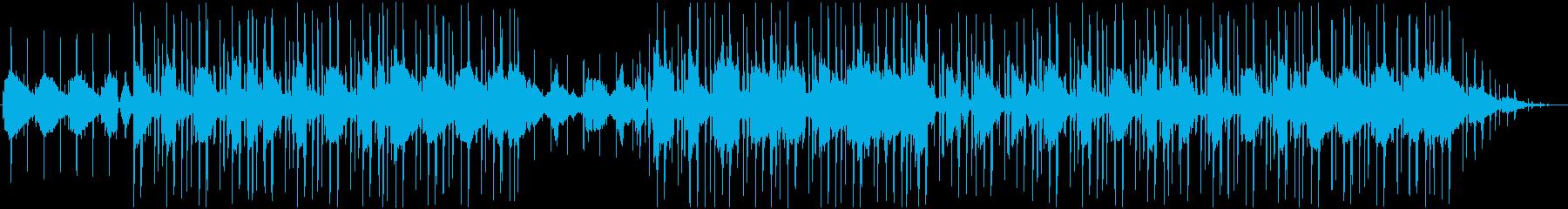 ジャジーなChillヒップホップの再生済みの波形