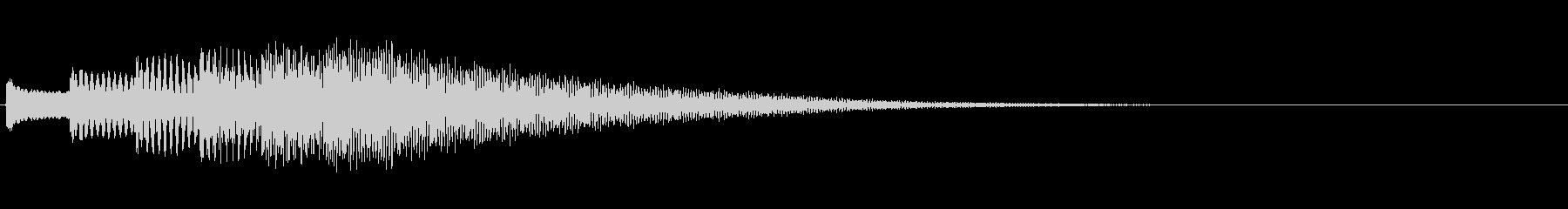 KANTシンセジングル201018の未再生の波形