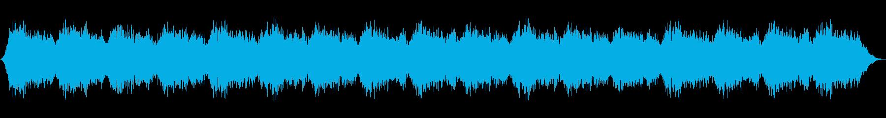 シンセが幻想的なヒーリングミュージックの再生済みの波形