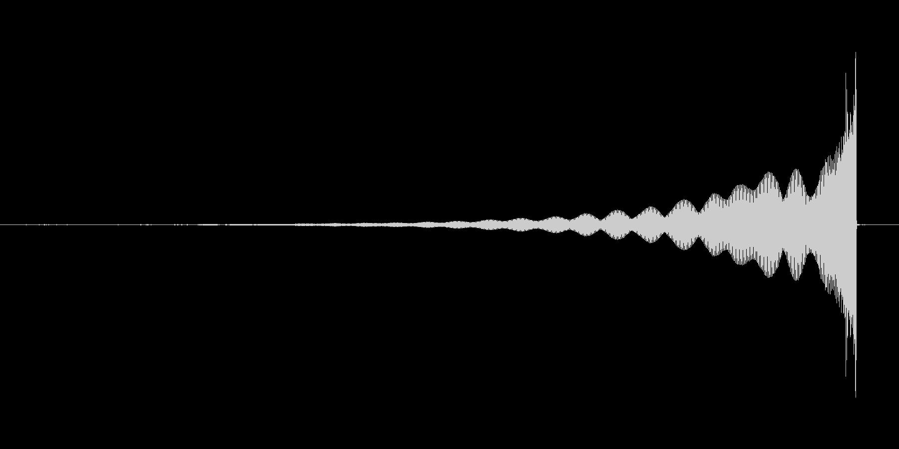 【心理/心情系効果音】緊張、緊張感の未再生の波形