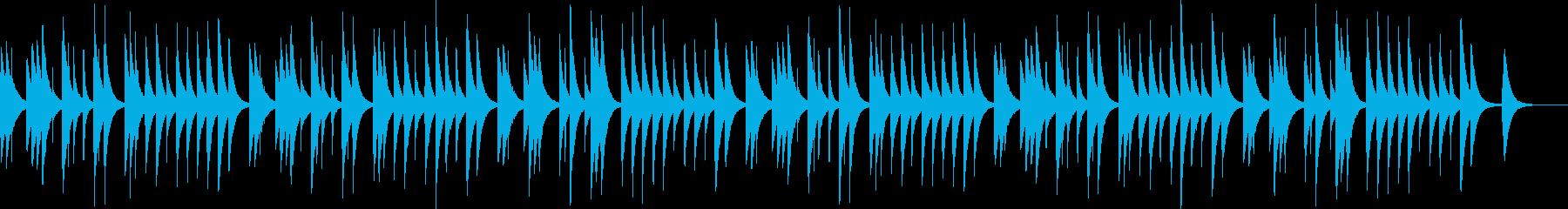 牧人ひつじを【オルゴール】の再生済みの波形