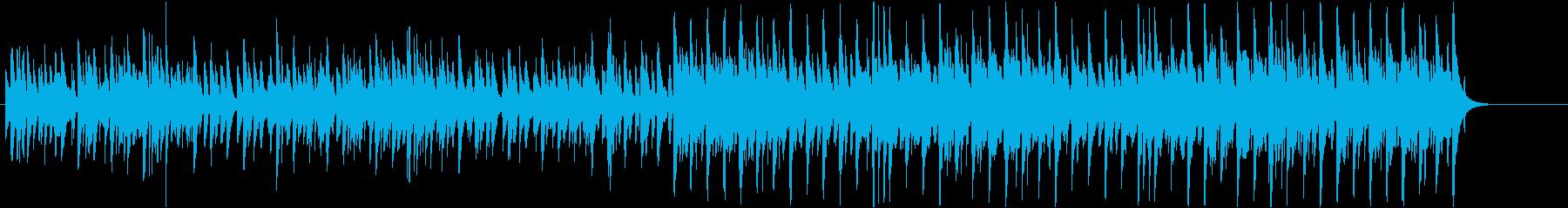 西洋琴ダルシマーによるクリスマスキャロルの再生済みの波形