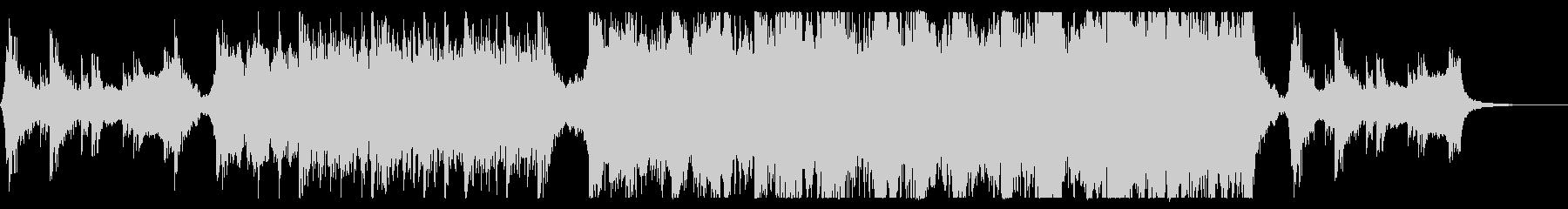 ハリウッド映画風の壮大オーケストラ12の未再生の波形