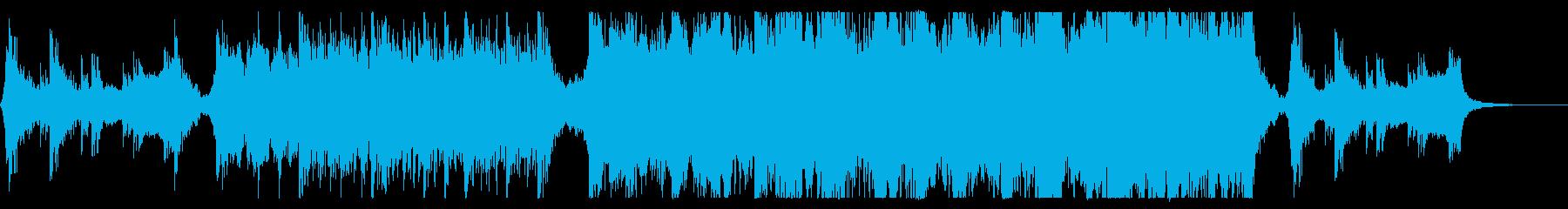 ハリウッド映画風の壮大オーケストラ12の再生済みの波形