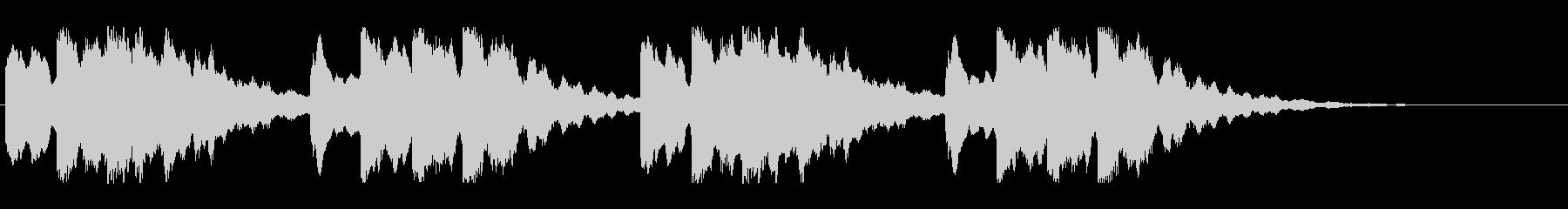 キーンコーンカーンコーン04(通常2回)の未再生の波形
