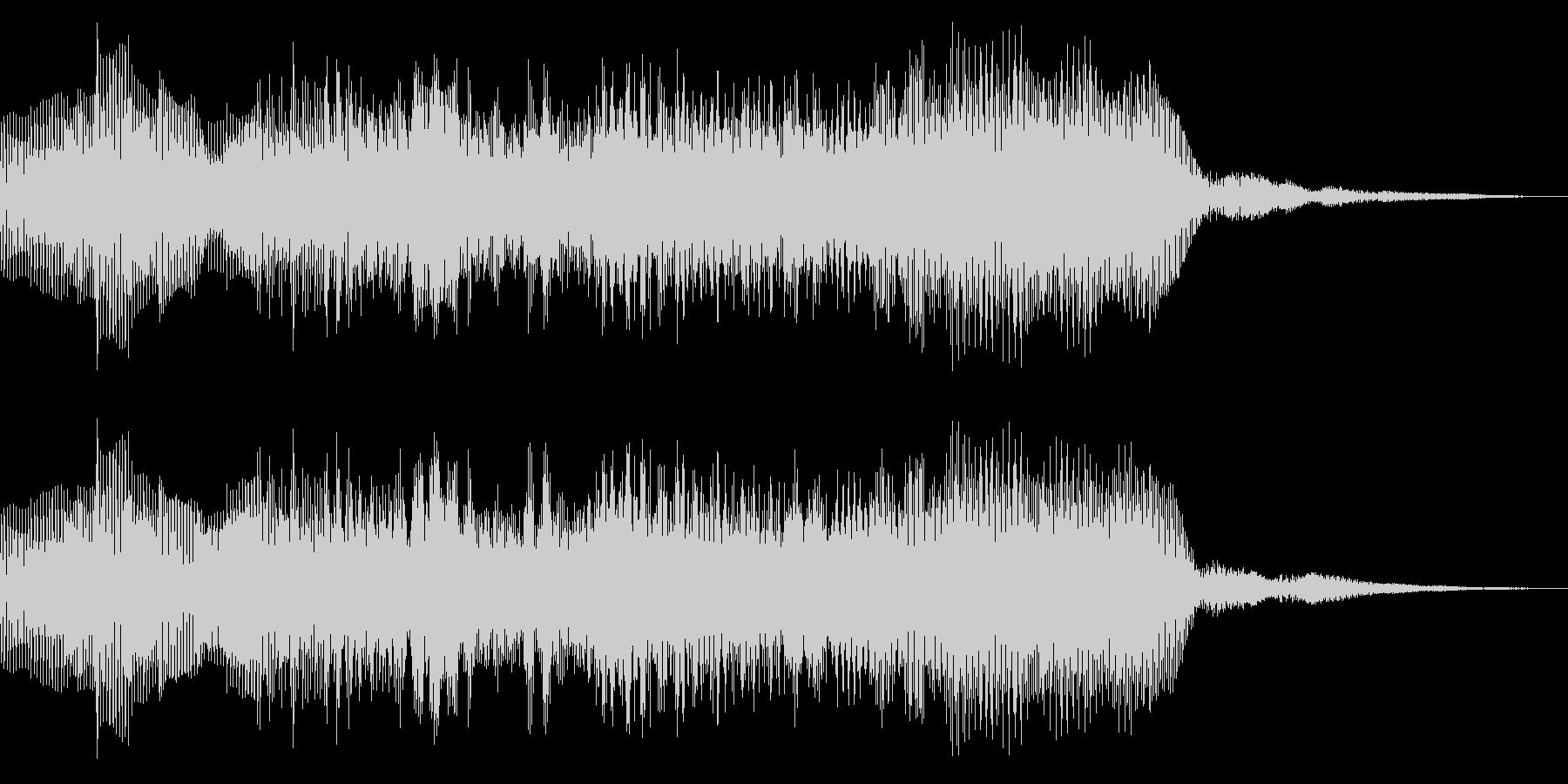 8bit ファミコン風 ゲームクリア の未再生の波形