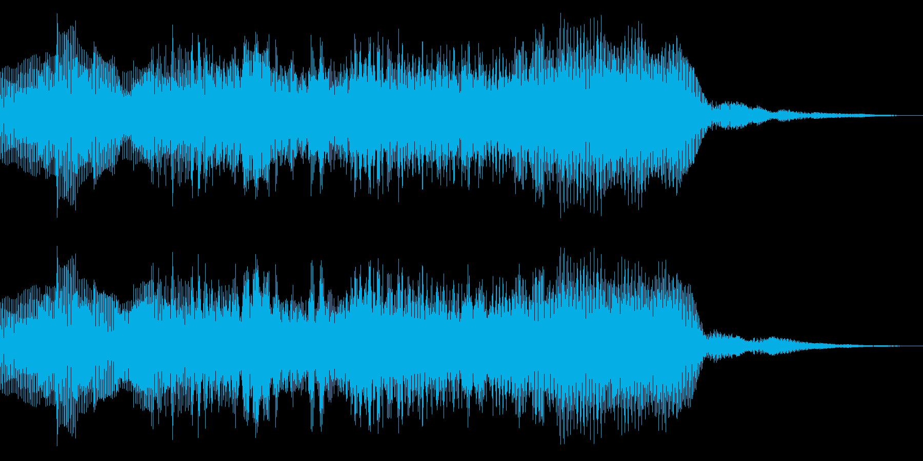 8bit ファミコン風 ゲームクリア の再生済みの波形