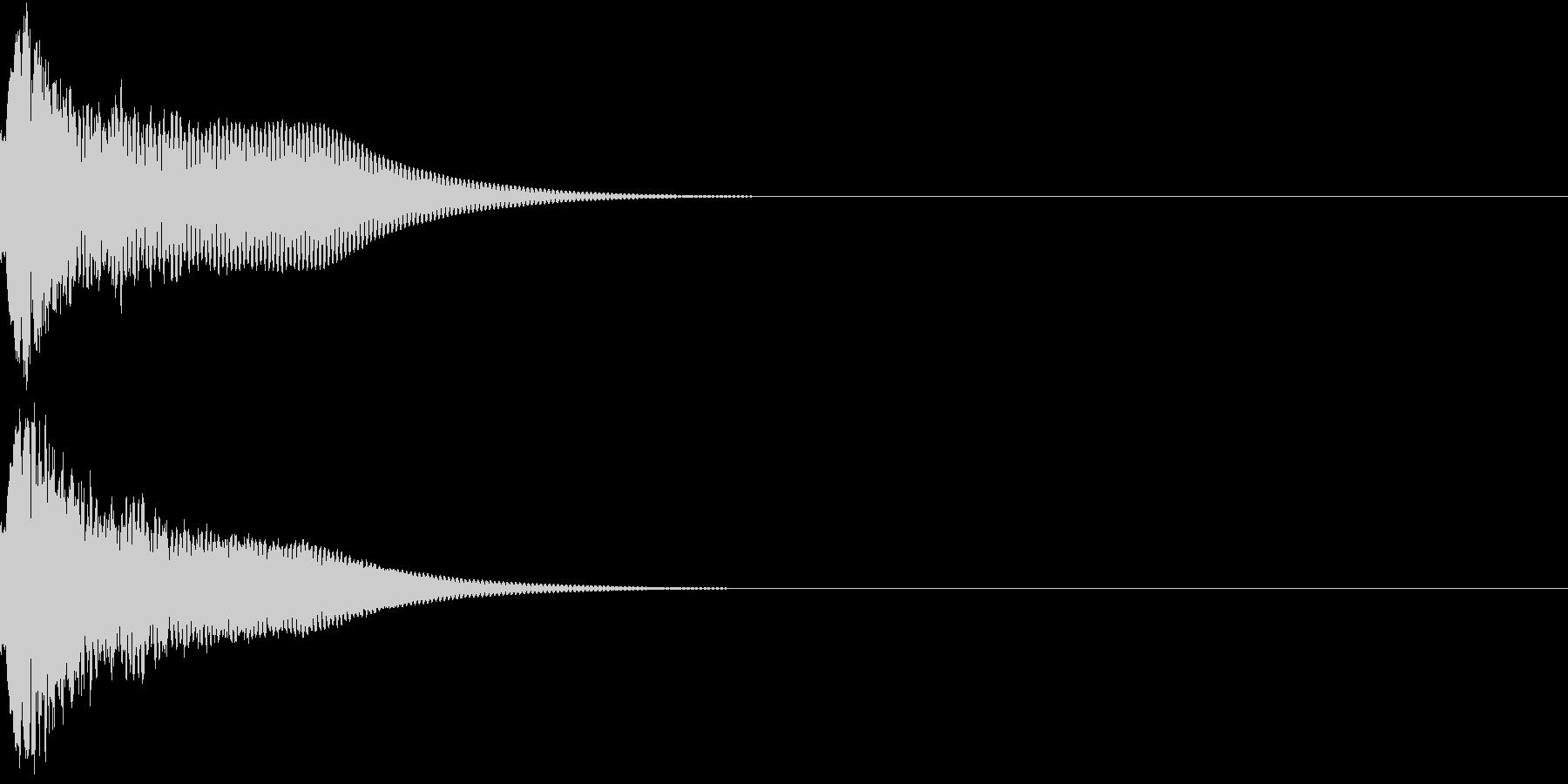光る キュイーン ピカーン キラン 05の未再生の波形
