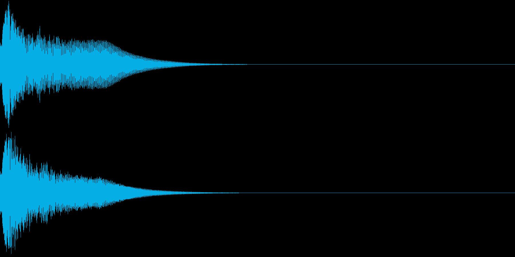 光る キュイーン ピカーン キラン 05の再生済みの波形