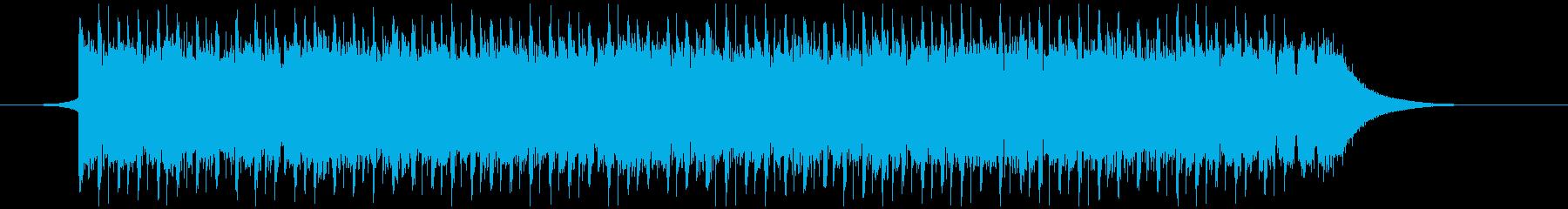 建設会社(40秒)の再生済みの波形
