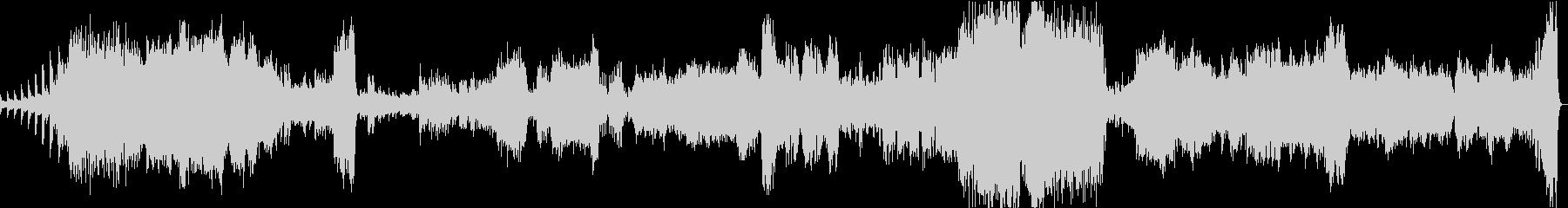 ラフマニノフ:ピアノ協奏曲2番1楽章の未再生の波形