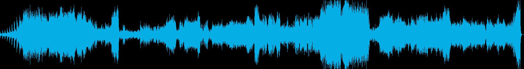ラフマニノフ:ピアノ協奏曲2番1楽章の再生済みの波形