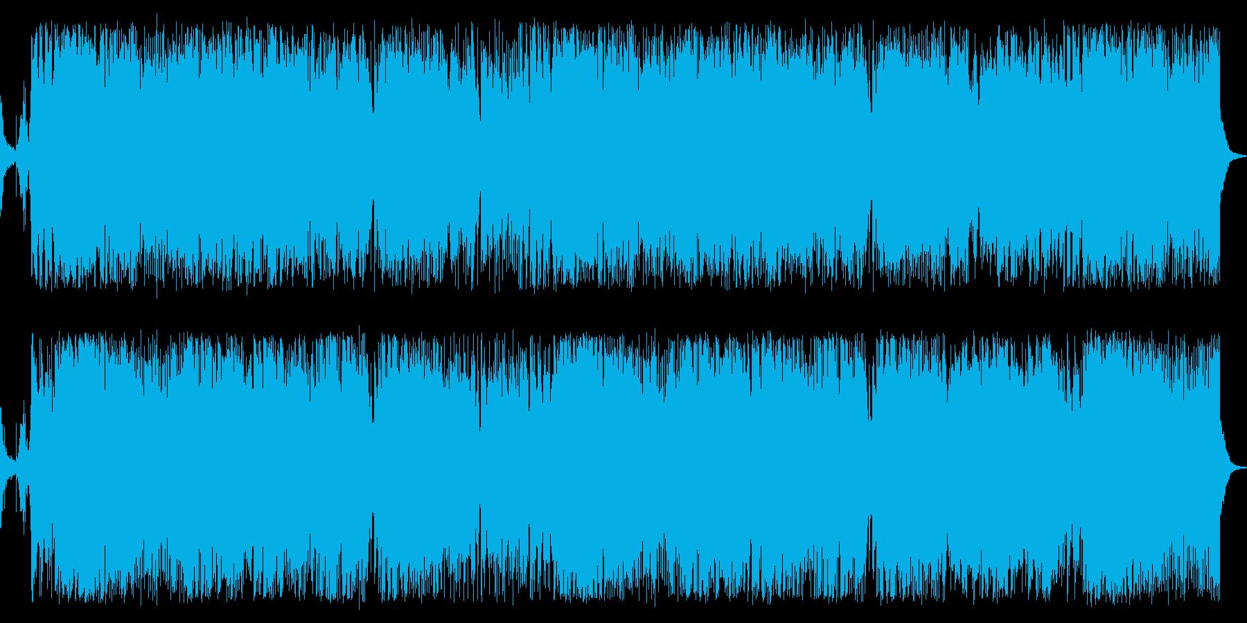 華やかエキサイティングなジャズBGMの再生済みの波形