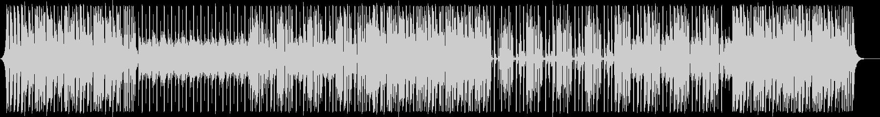 上がるナイルロジャース系ディスコ曲の未再生の波形