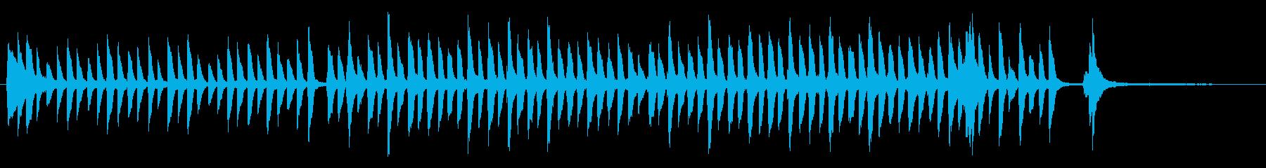ピアノかわいいジングル 明るくほのぼのの再生済みの波形