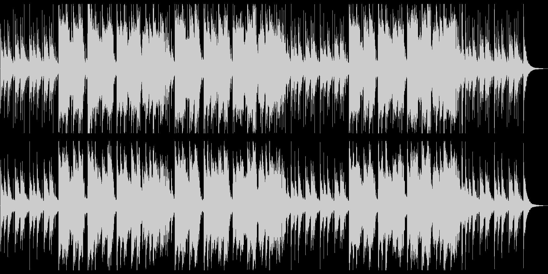 笛がメインの明るく賑やかな和風楽曲の未再生の波形