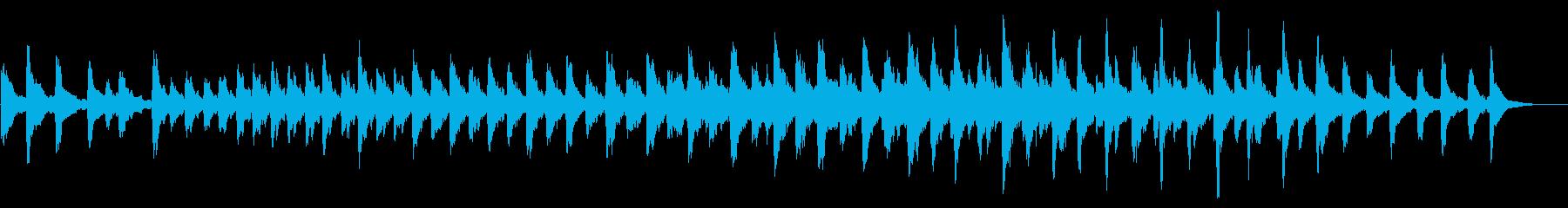 レプトン教会の鐘:単一の呼び出し音...の再生済みの波形