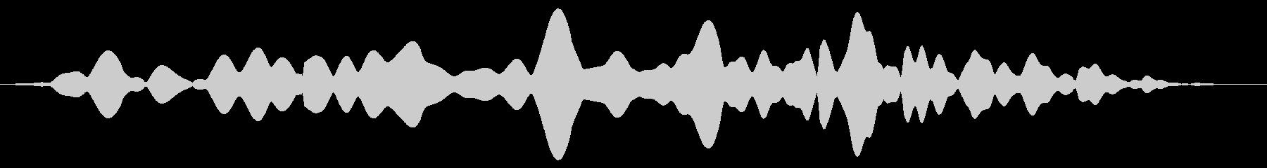 素材 シンプルムービングサインロング03の未再生の波形