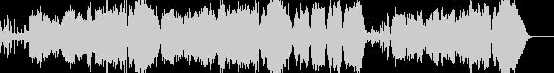 尺八が奏でる感動的なバラードHRの未再生の波形