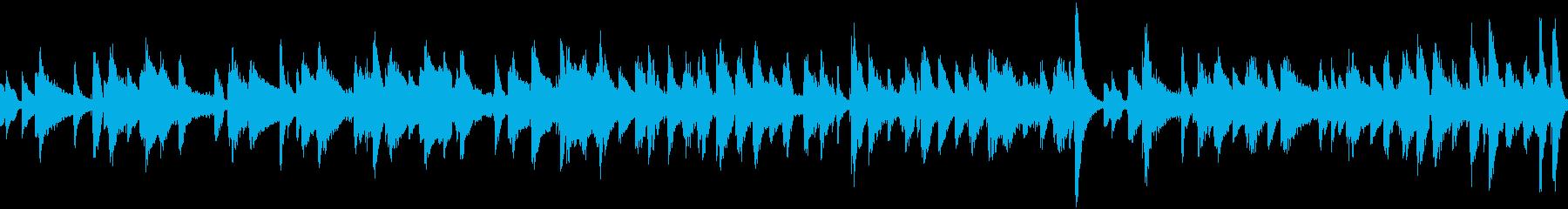 遊び心のあるピアノメインのジャズトリオの再生済みの波形
