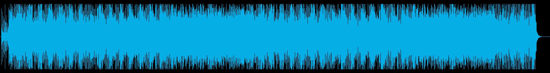 使いやすい!ポップな和風BGM7の再生済みの波形