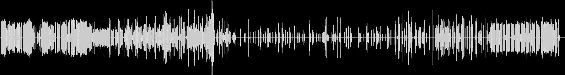 ロボットの誤作動音の未再生の波形