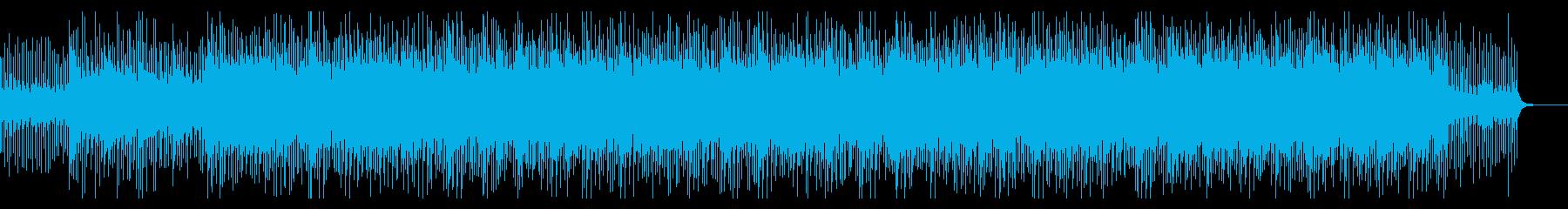 企業VP会社紹介爽やか生音系ギターピアノの再生済みの波形