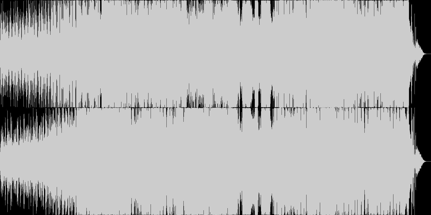 動画 技術的な 説明的 静か 繰り...の未再生の波形