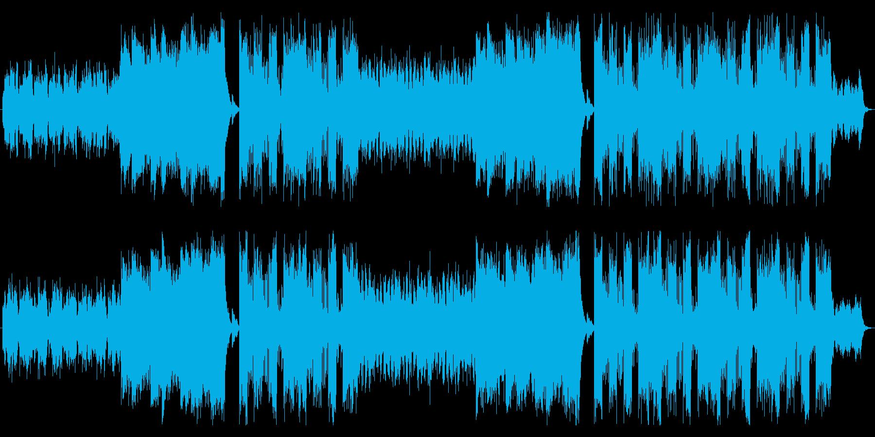 ハロウィン ホラー Future Popの再生済みの波形