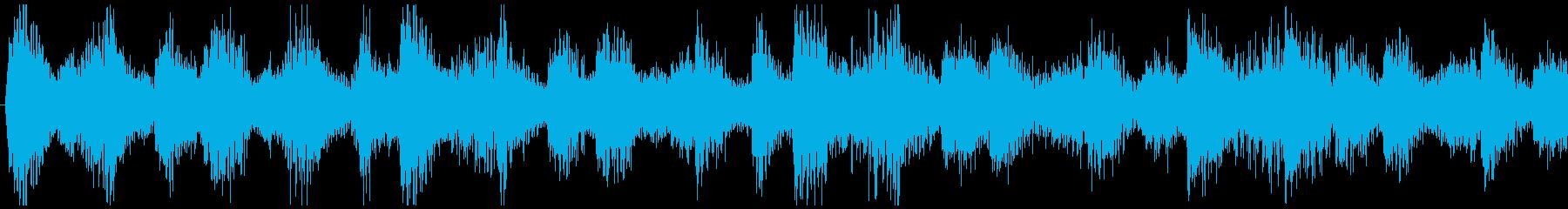爽やかな朝に聞くBGM-ループ3の再生済みの波形